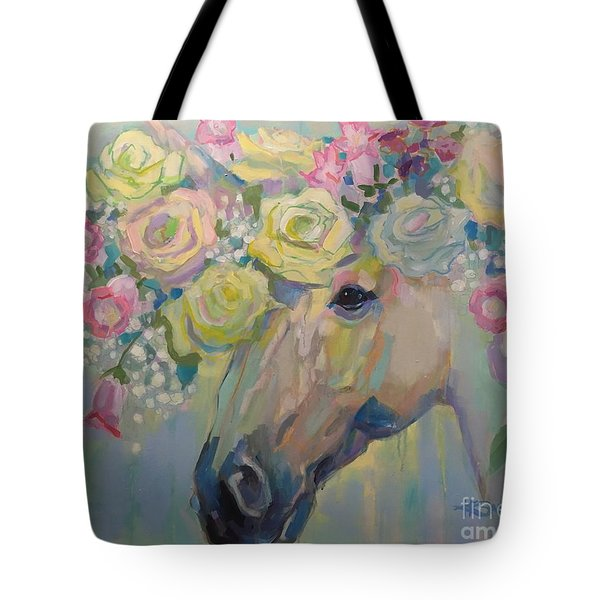 Purity Tote Bag by Kimberly Santini