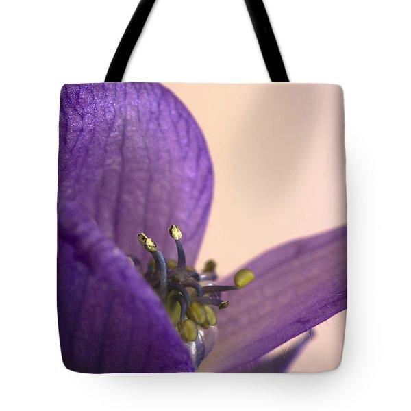 Purple Aconitum Napellus Tote Bag