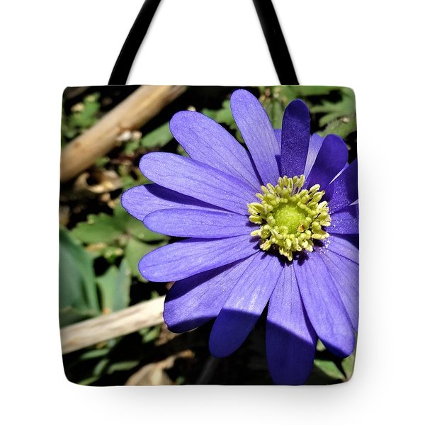 Purple Anemone Tote Bag