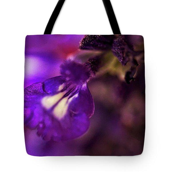 Purple Blends Tote Bag