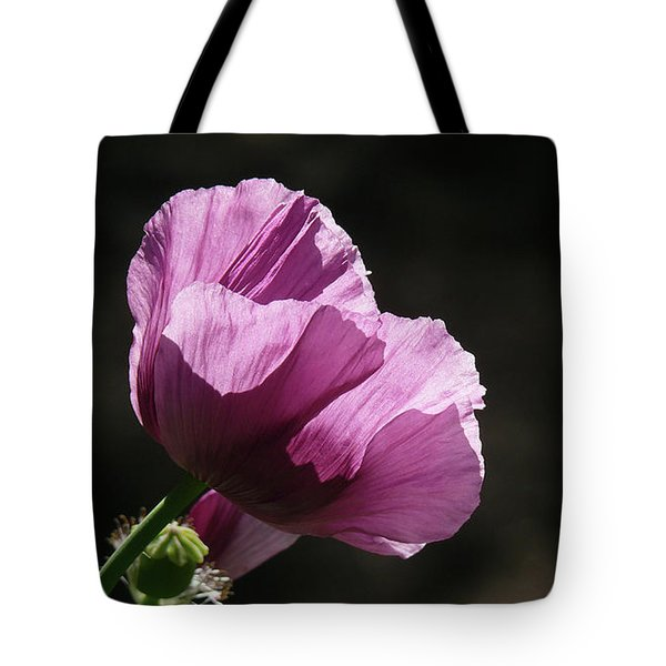 Purple Blessing Tote Bag