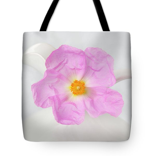 Purple Bloom Tote Bag