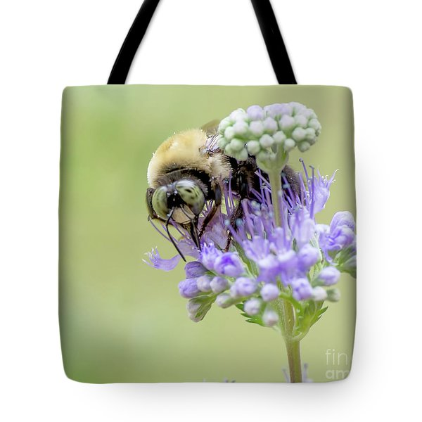 Purple Breakfast Tote Bag