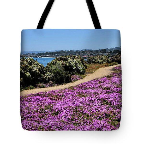Purple Carpet Tote Bag by Gina Savage