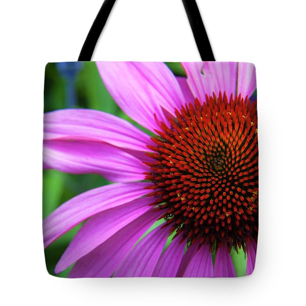 Tote Bag featuring the photograph Purple Coneflower by Mark Mille
