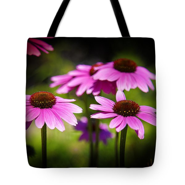 Purple Coneflowers Tote Bag