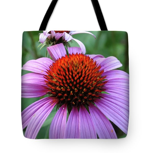 Purple Coneflowers Tote Bag