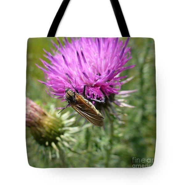 Purple Dandelions 1 Tote Bag
