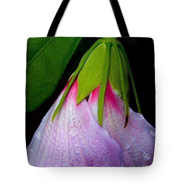 Purple Dew Tote Bag