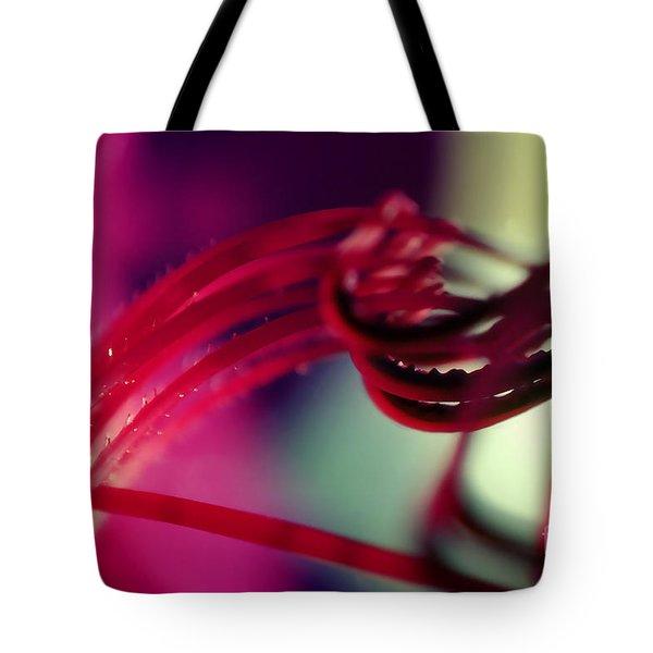 Purple Dissotis Flower Dissotis Princeps Tote Bag by Wernher Krutein