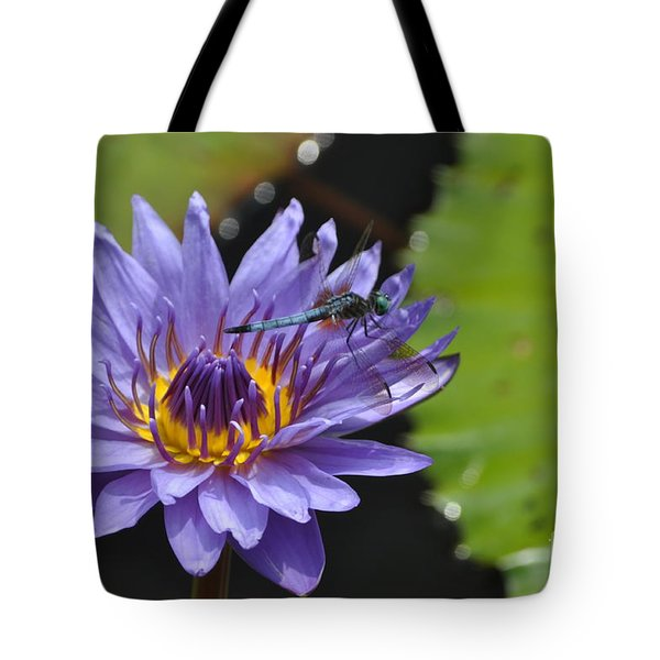 Purple Dragon Tote Bag