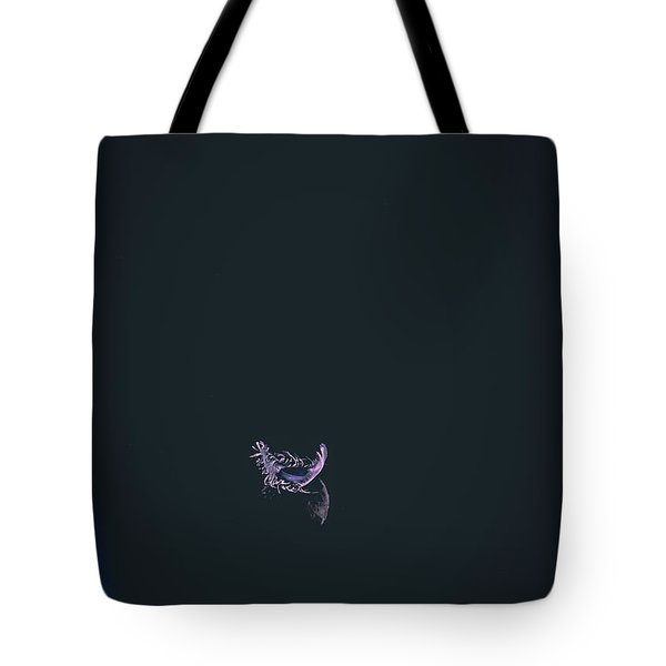Purple Feather1 Tote Bag by Timothy Latta
