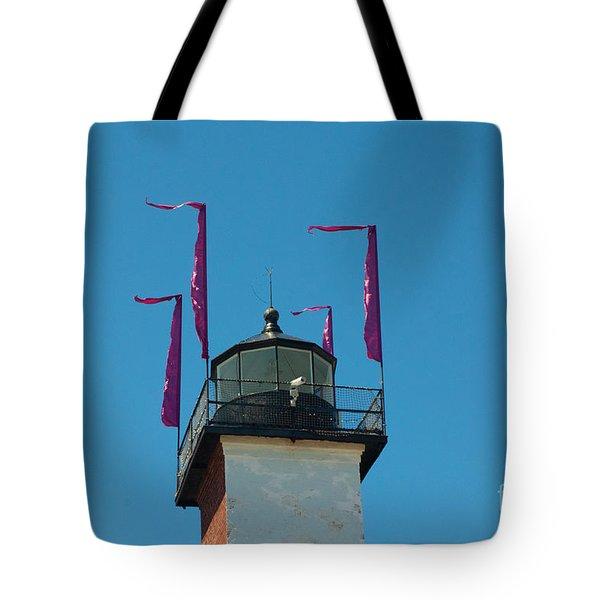 Purple Flags Tote Bag