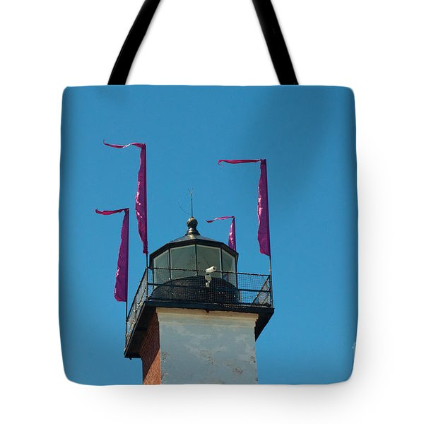 Purple Flags Tote Bag