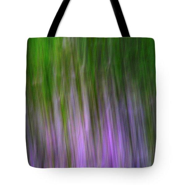 Purple Flames Tote Bag