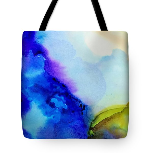 Purple Flow Tote Bag