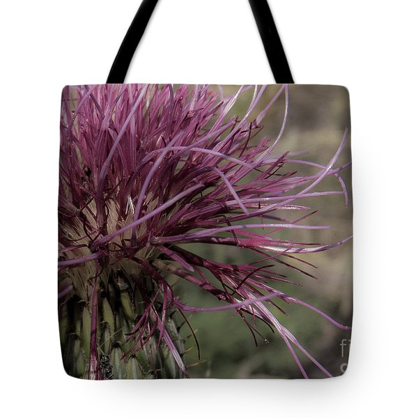 Purple Flower 2 Tote Bag