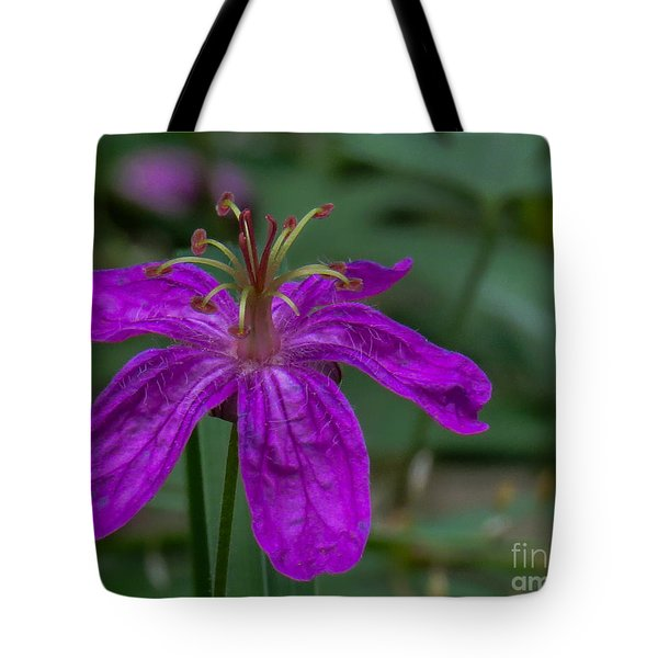 Purple Flower 5 Tote Bag
