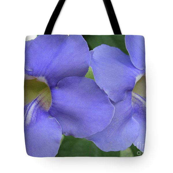 Purple Flower Picture Perfect Tote Bag