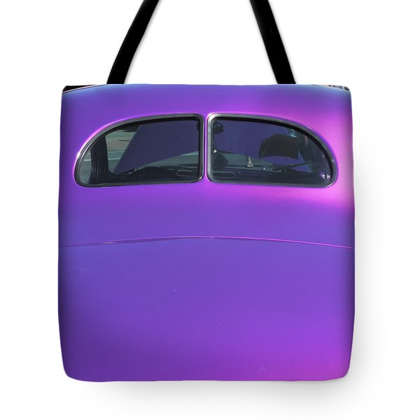 Purple Forty Tote Bag