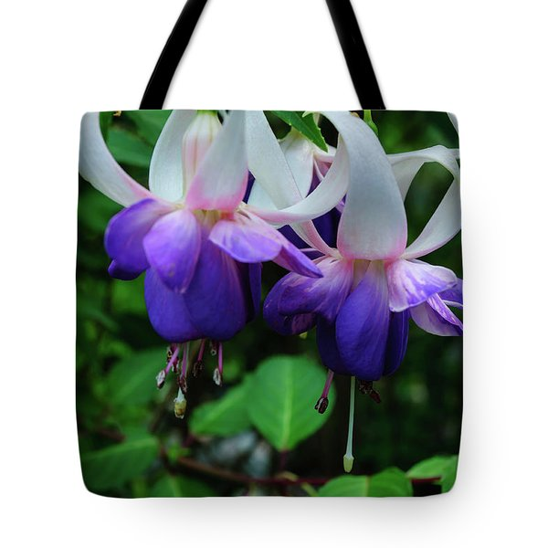 Tote Bag featuring the photograph Purple Fuschia by Tikvah's Hope