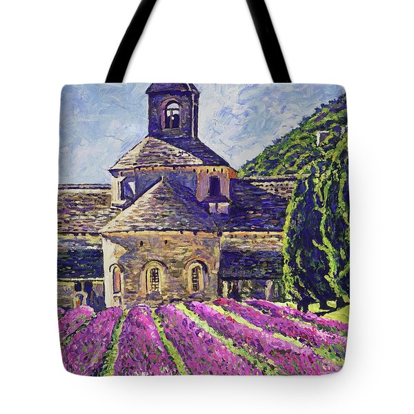 Purple Gardens Provence Tote Bag