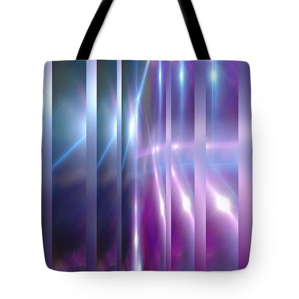 Purple Glaze Tote Bag