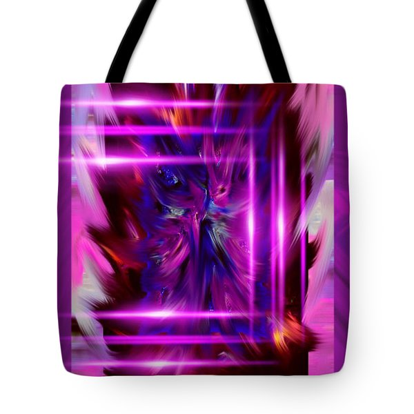 Purple Gone Wild Tote Bag
