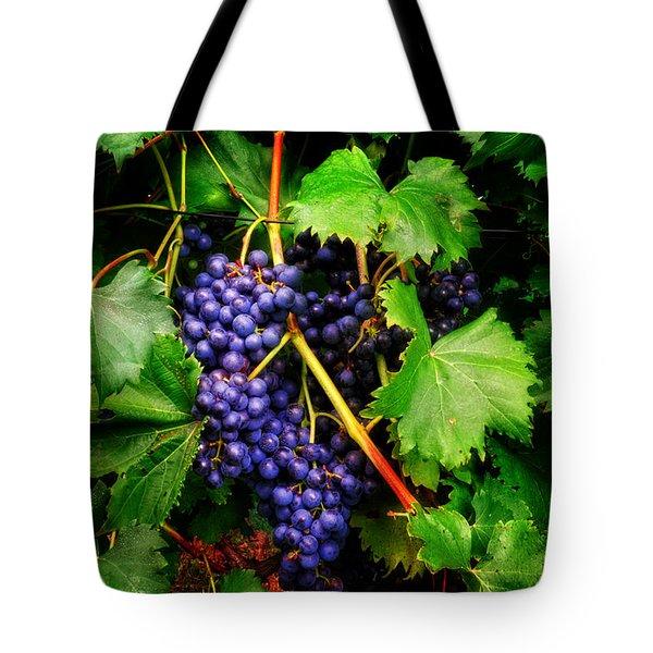 Grapes Tote Bag by Greg Mimbs