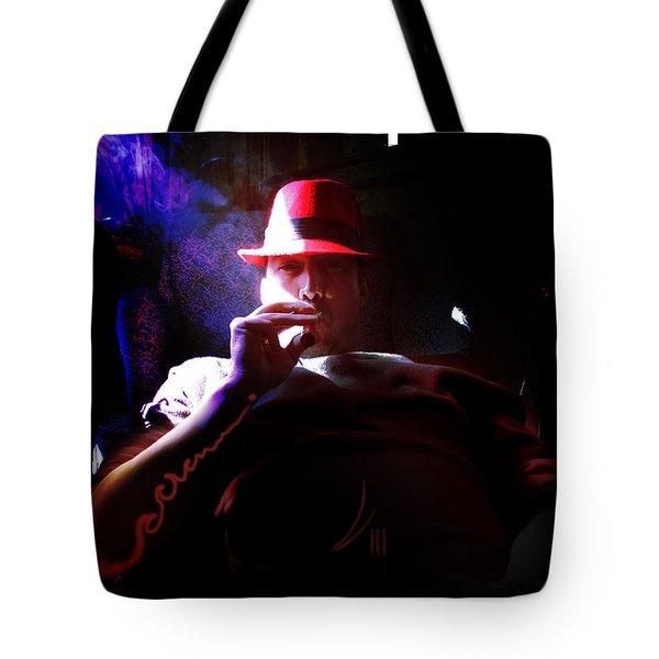 Purple Haze Boss  Tote Bag