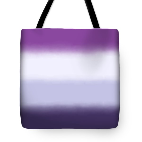 Purple Haze - Sq Block Tote Bag