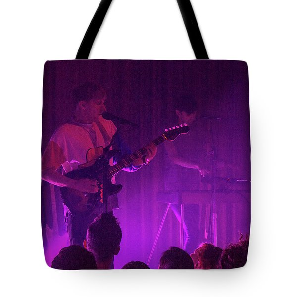 Purple Haze Tote Bag by Robert Hebert