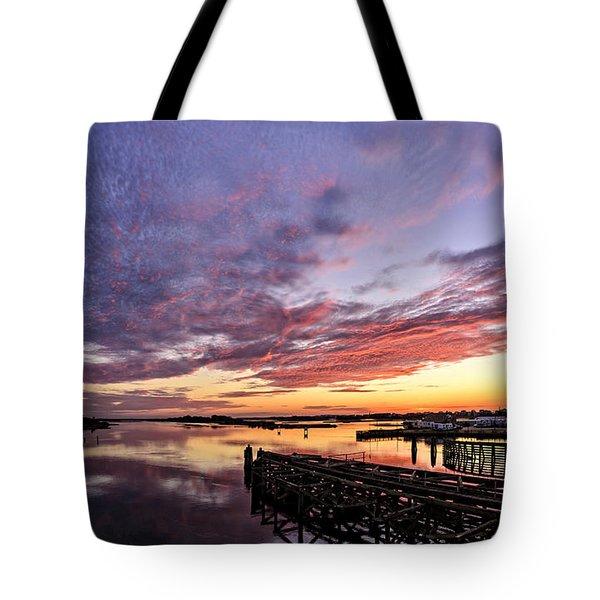 Purple Icw Tote Bag