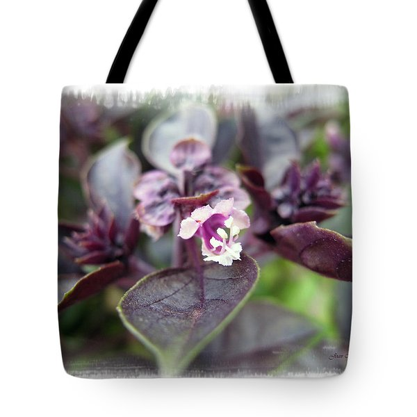 Tote Bag featuring the photograph Purple In Autumn by Joan  Minchak