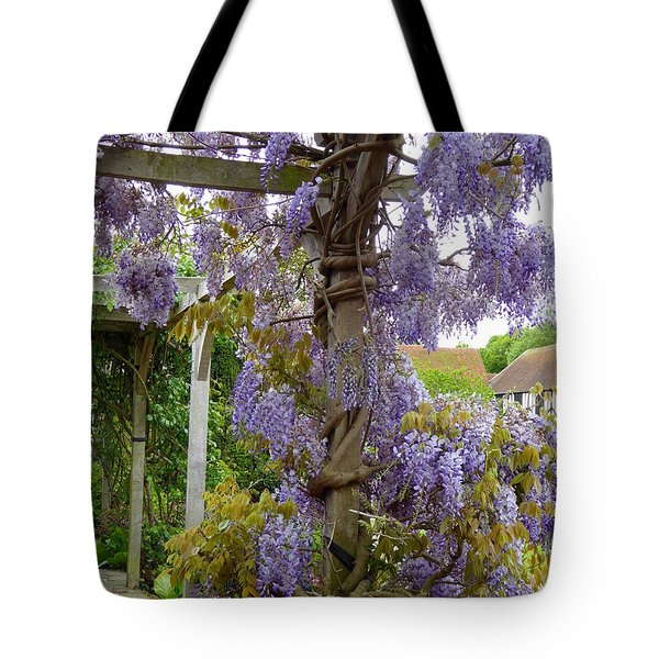 Purple In Priory Park Tote Bag
