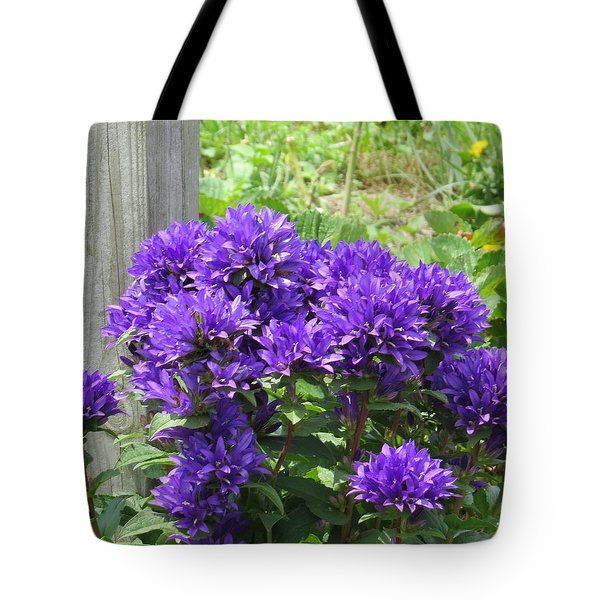 Purple In The Forest Tote Bag
