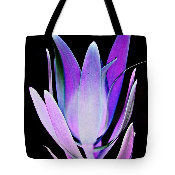 Tote Bag featuring the photograph Purple by John Hansen