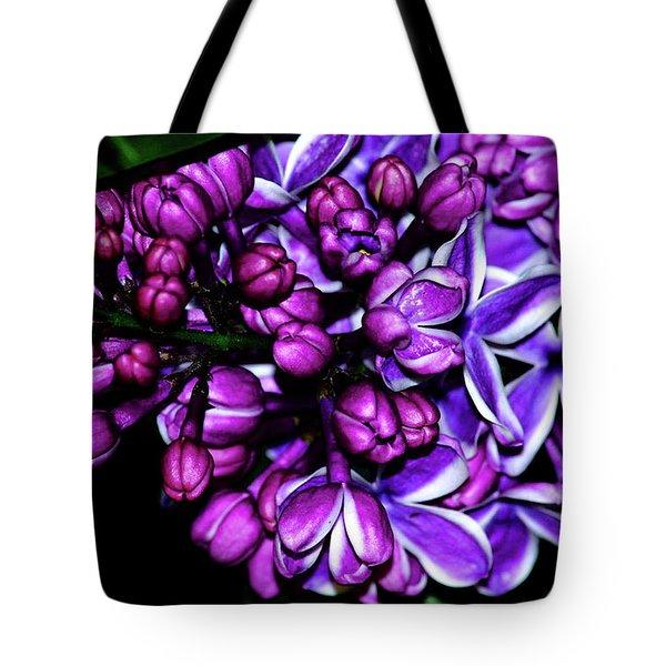 Purple Lilac Tote Bag