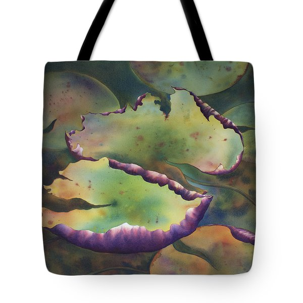 Purple Linings I Tote Bag