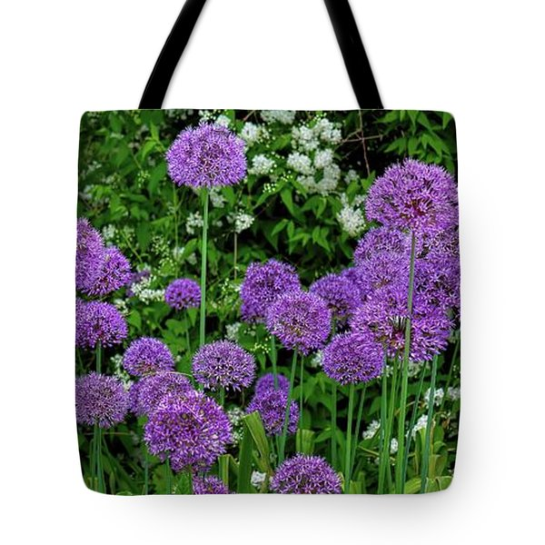 Purple Lollipops Tote Bag by Henry Kowalski
