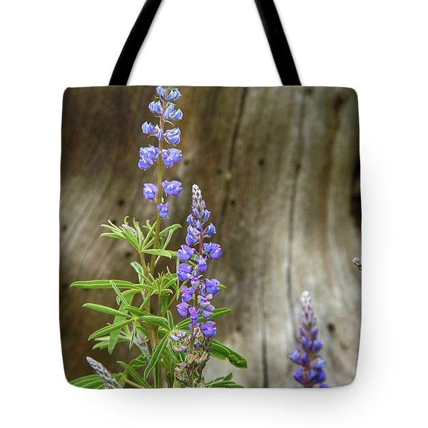 Purple Lupine Tote Bag