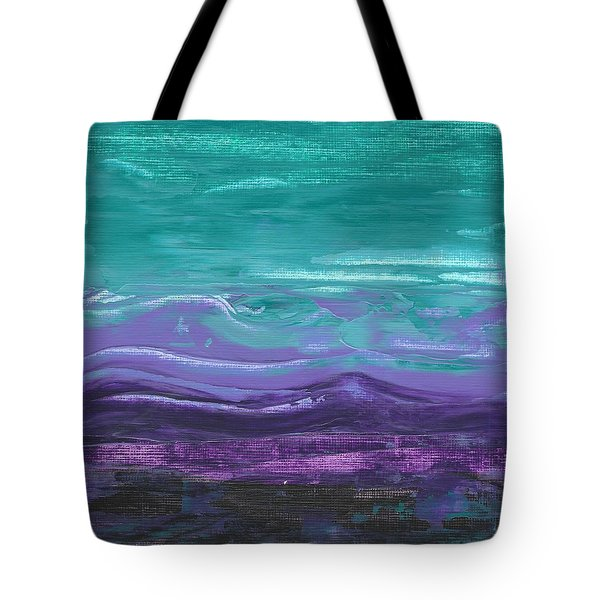 Purple Majesty  Tote Bag