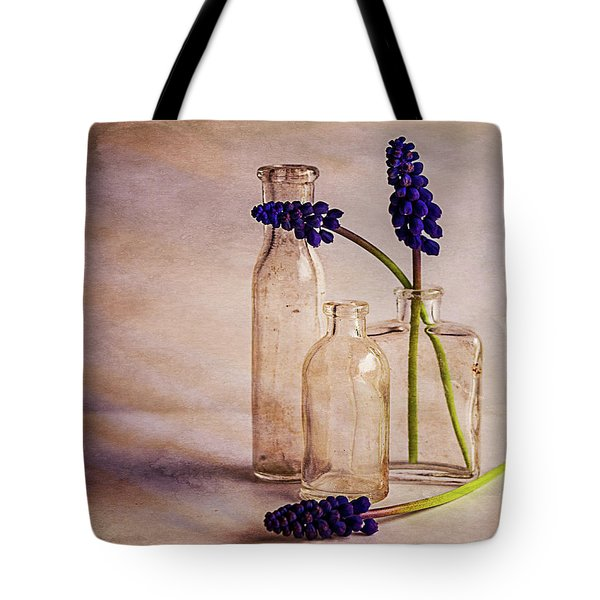 Tote Bag featuring the photograph Purple by Mary Hone