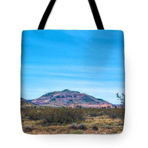 Purple Mountain Tote Bag