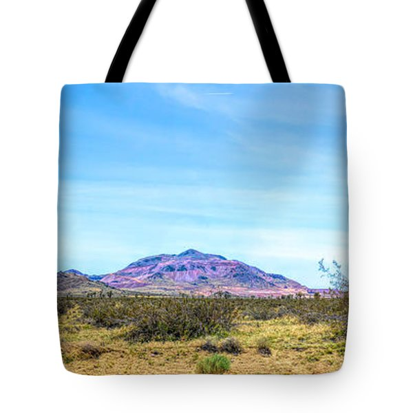 Purple Mountain Panoramic Tote Bag