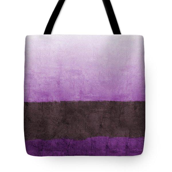 Purple On The Horizon- Art By Linda Woods Tote Bag