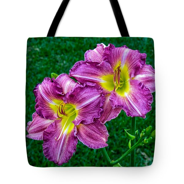 Purple Pair Tote Bag