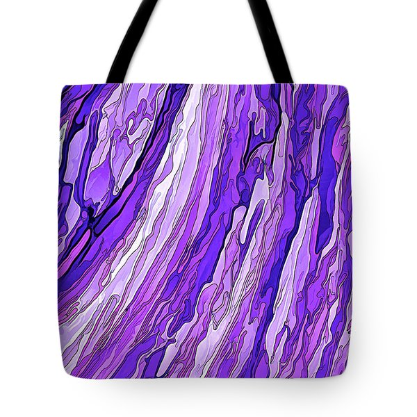 Purple Passion Tote Bag by ABeautifulSky Photography