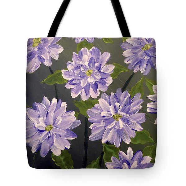 Purple Passion Tote Bag by Teresa Wing
