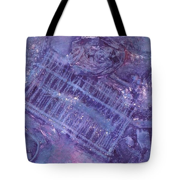 Purple Passion Tote Bag by Vickie G Buccini